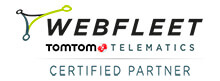 partner tomtom webfleet certificato